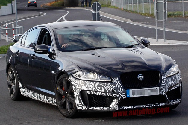Jaguar XFR-S Spy Shots