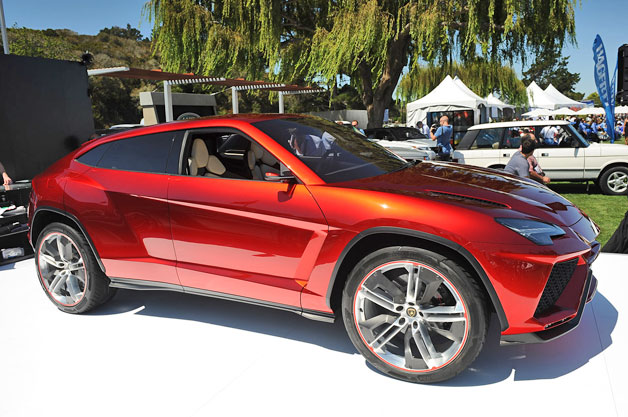 Lamborghini Urus concept at Pebble Beach