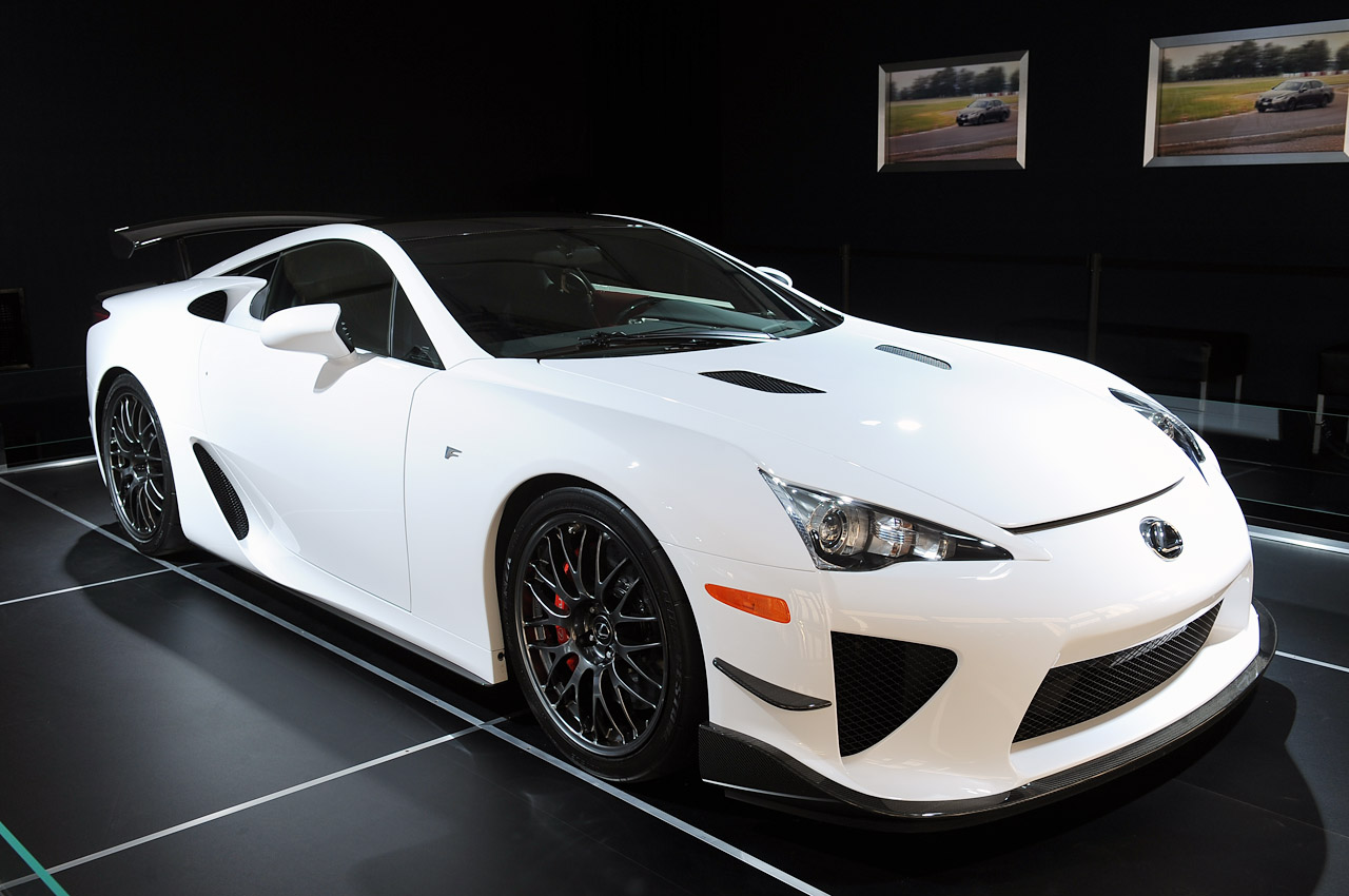 lexus lfa n rburgring edition sema 2012 photo gallery autoblog. Black Bedroom Furniture Sets. Home Design Ideas