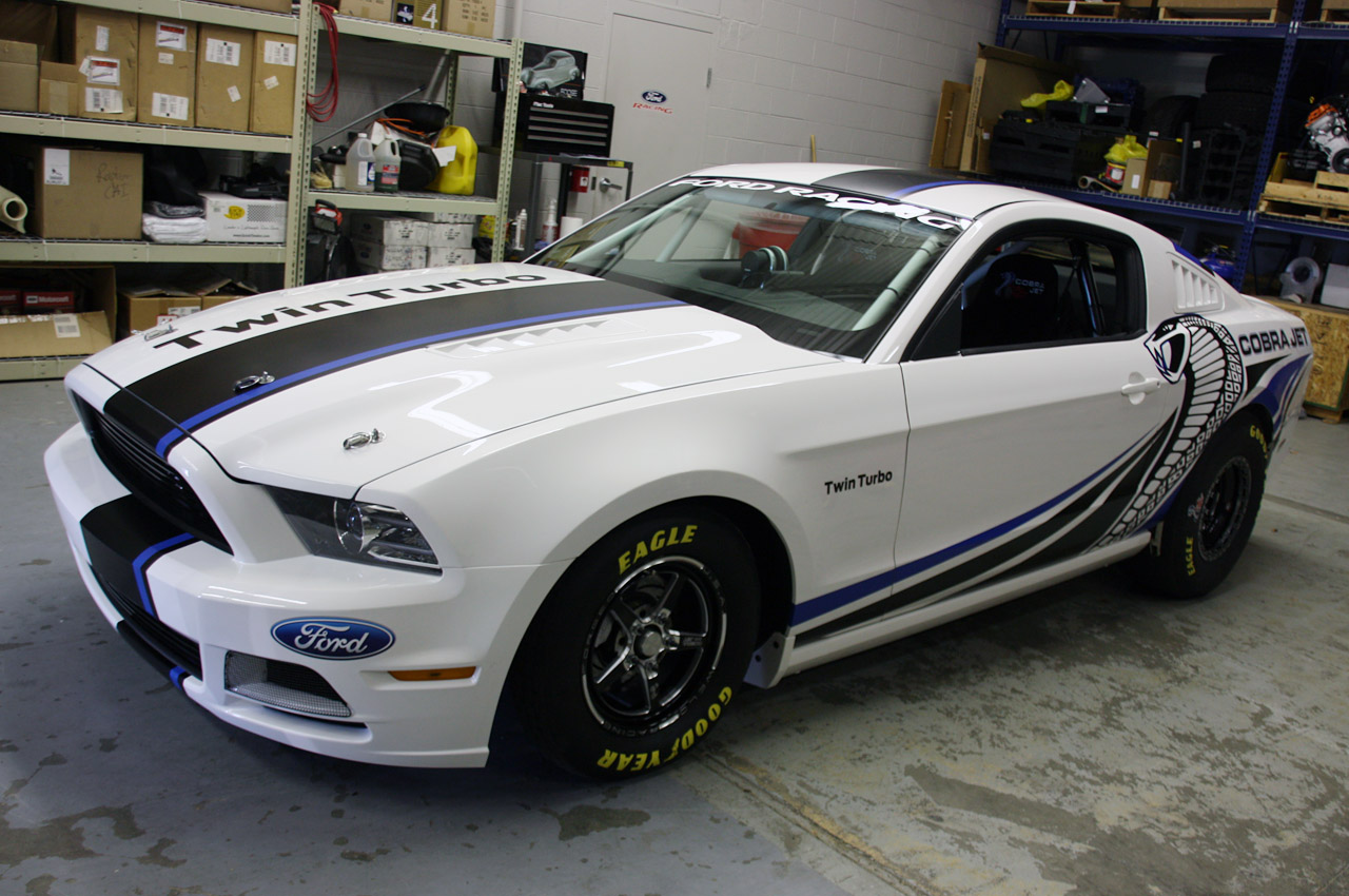 Ford Racing Debuts Twin Turbo Mustang Cobra Jet Concept W