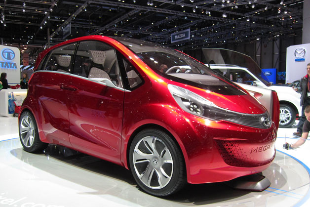 Tata Megapixel concept live on show floor in Geneva