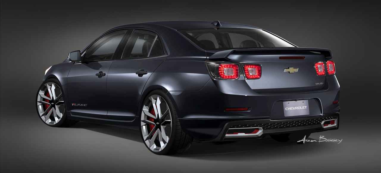 2012 Chevy Malibu Ltz Specs >> Chevy cars highlight GM's fleet of custom SEMA concepts - Autoblog