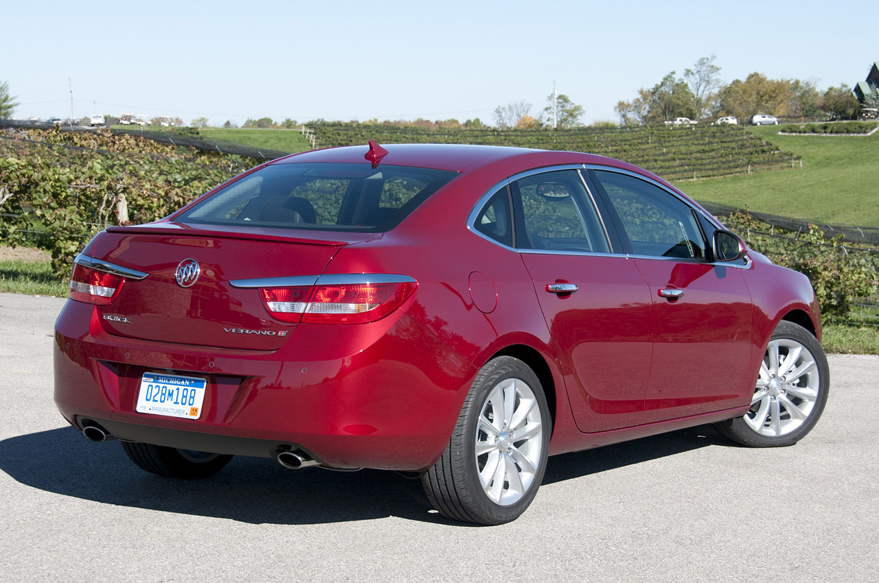2013 Buick Verano Turbo W Video Autoblog