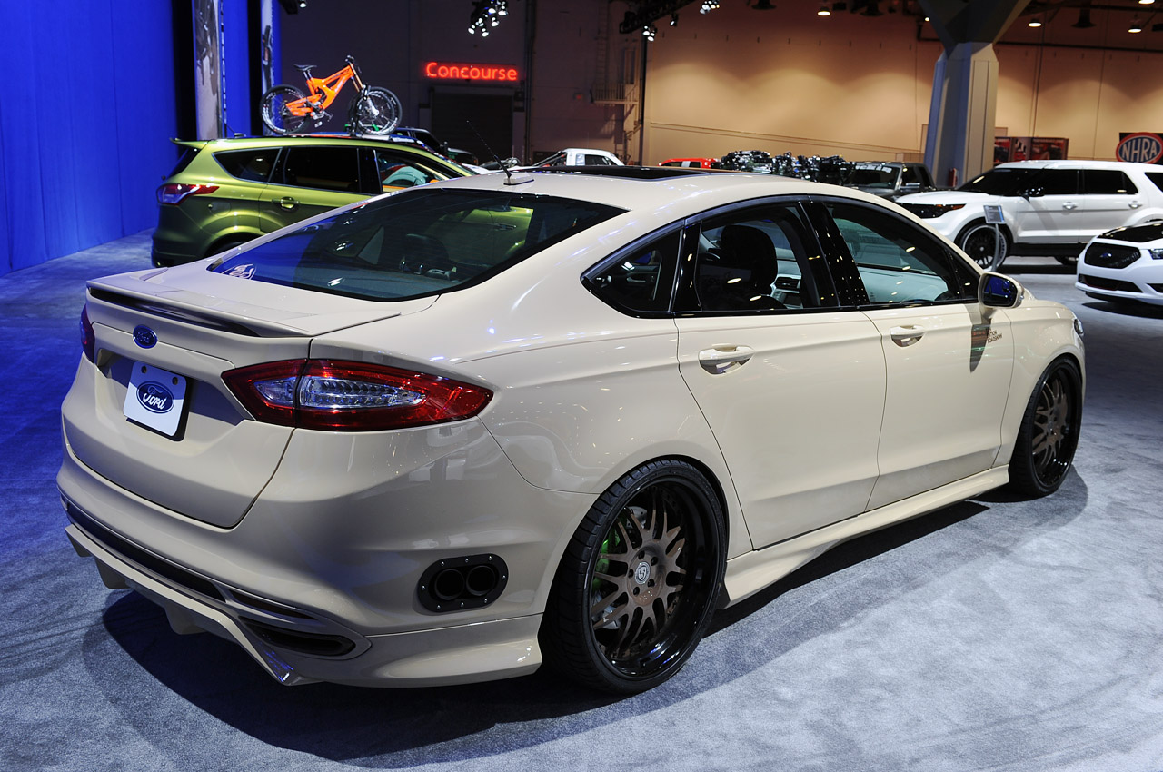 Sleek new Ford Fusion gets hit with SEMAs ugly stick  Autoblog