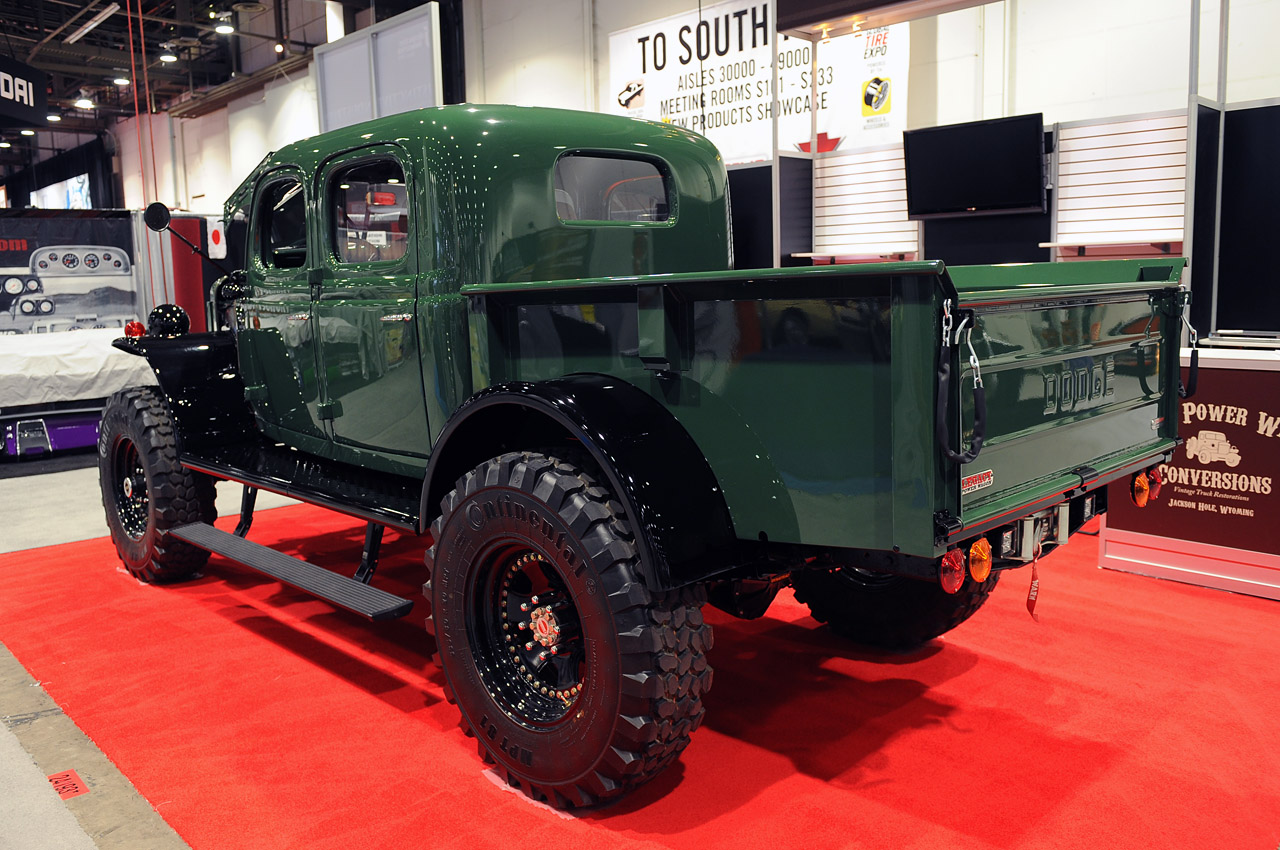 Legacy Power Wagon Conversion is three tons of vintage ...