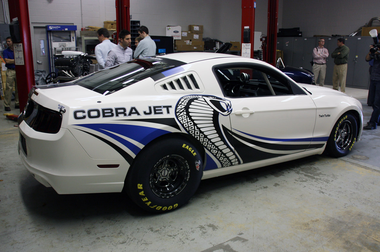 Ford Racing debuts twinturbo Mustang Cobra Jet Concept wvideo