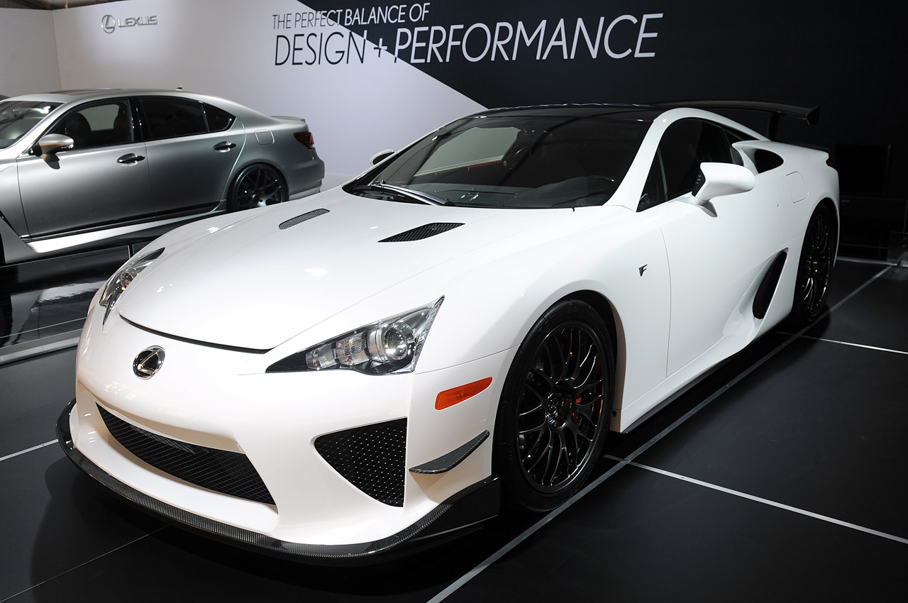 lexus lfa n rburgring edition pops up at sema autoblog. Black Bedroom Furniture Sets. Home Design Ideas