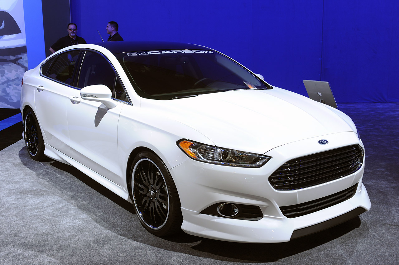 sleek new ford fusion gets hit with sema 39 s ugly stick autoblog. Black Bedroom Furniture Sets. Home Design Ideas