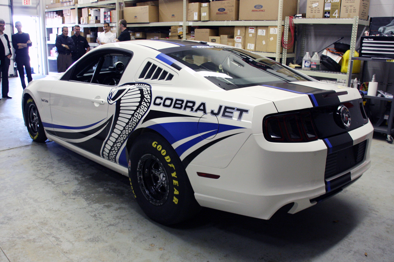 ford racing debuts twin turbo mustang cobra jet concept w video autoblog. Black Bedroom Furniture Sets. Home Design Ideas