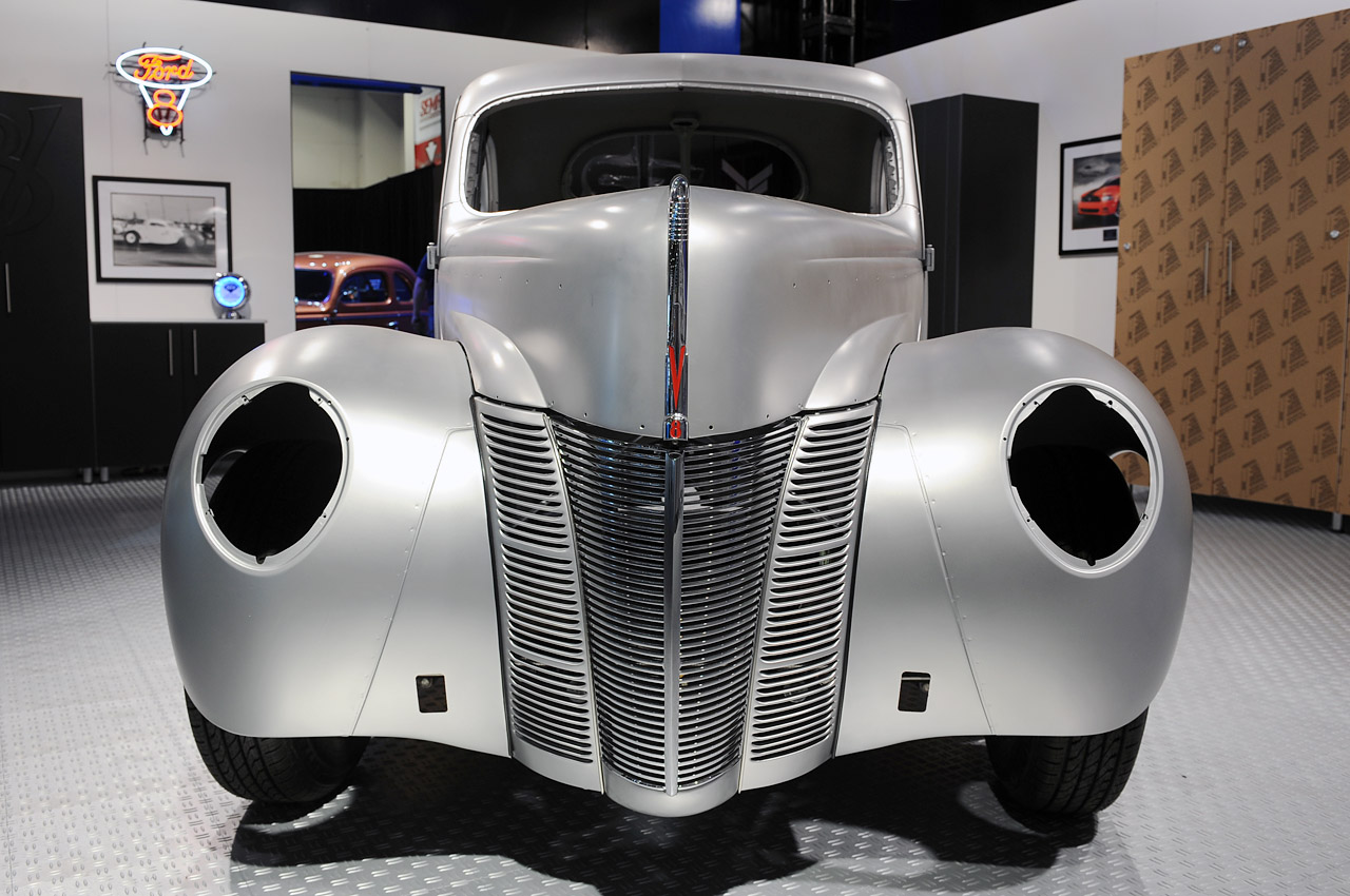 1940 ford coupe body shell sema 2012 photo gallery autoblog