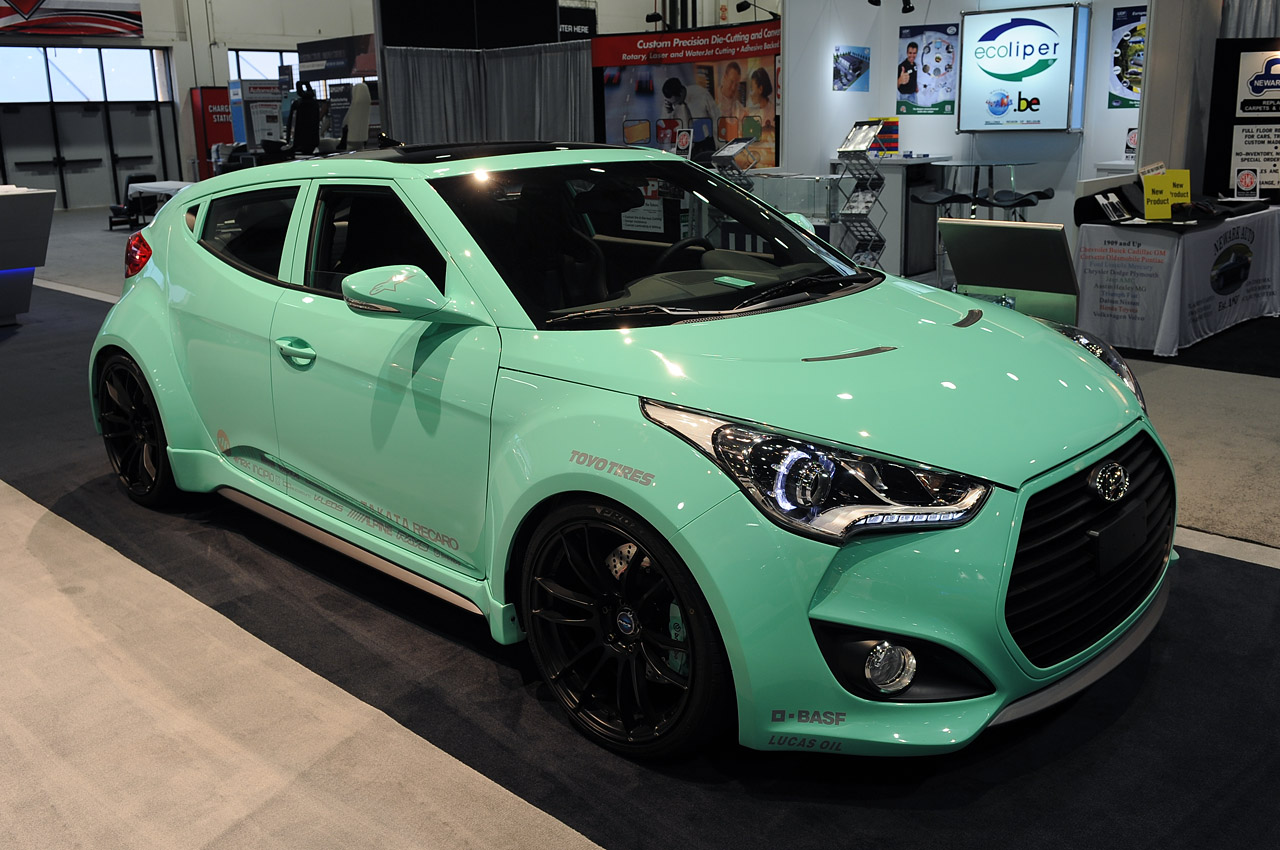 Hyundai Veloster Show Cars Sema 2012 Photo Gallery Autoblog