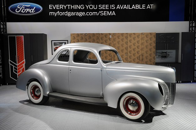 Image: 1940 Ford steel shell
