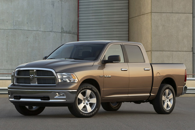 Ram 1500 pickup - front three-quarter view