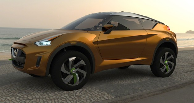 Nissan Extrem crossover concept - front three-quarter view
