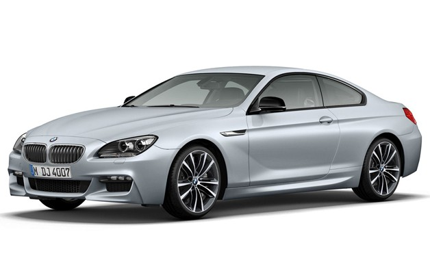 BMW 6 Series Frozen Silver Edition