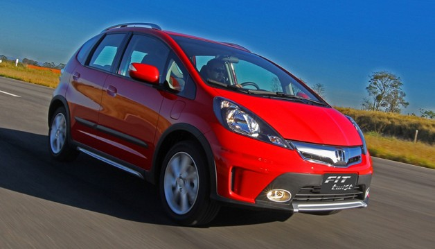 Honda Fit Twist - Brazilian market lifted Honda Fit/Jazz