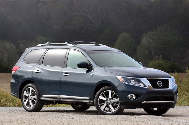 2013 Nissan Pathfinder Black First drive: 2013 nissan pathfinder ...