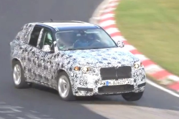 2014 BMW X5 M prototype on 'Ring