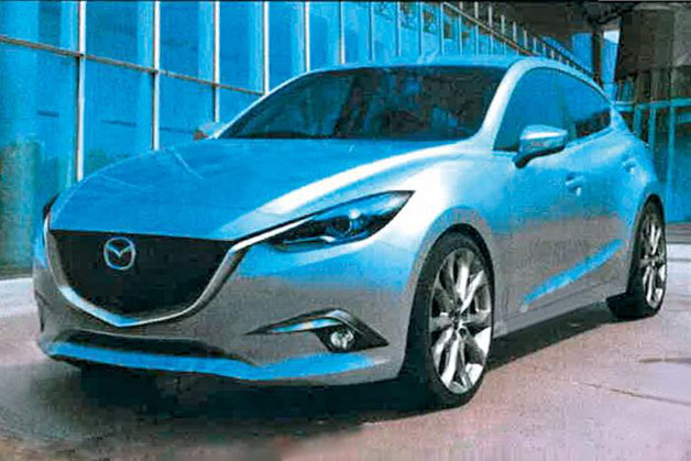 Next-gen Mazda3 spyshot?
