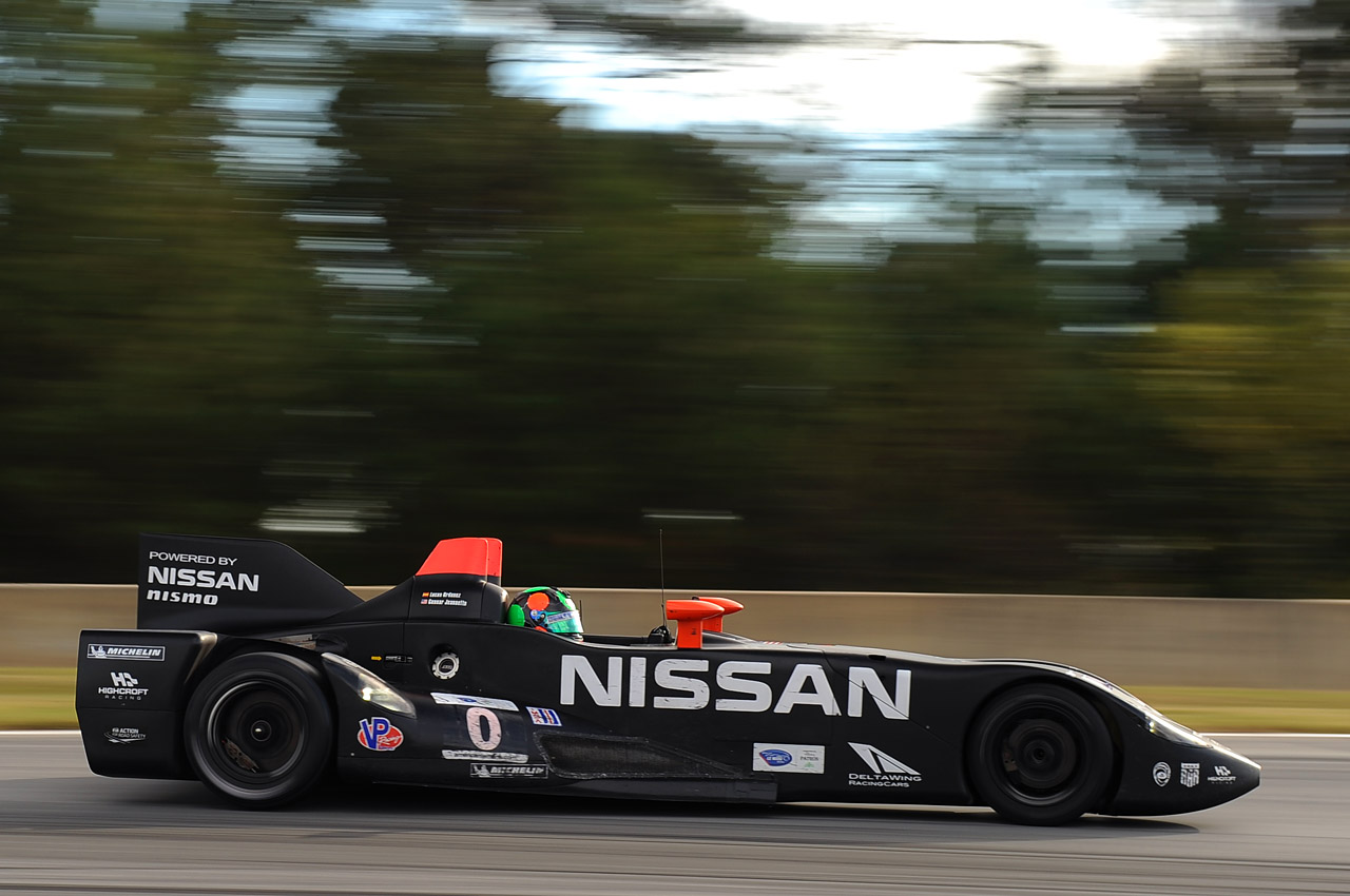 nissan deltawing at petit le mans photo gallery autoblog. Black Bedroom Furniture Sets. Home Design Ideas