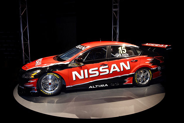 Nissan's 2013 Altima for V8 Supercars