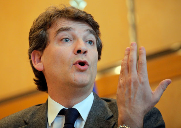Arnaud Montebourg, French Minister of Industrial Recovery