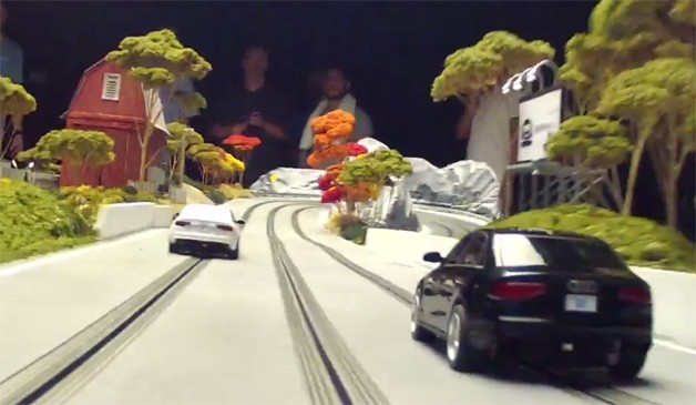 Audi Slot Car Track
