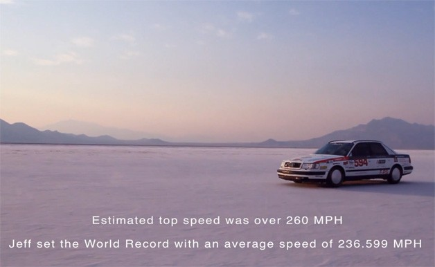 Land Speed Record Audi S4 at Bonneville Salt Flats