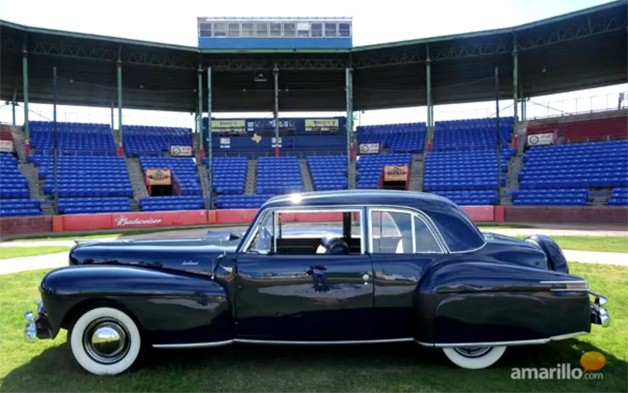 Babe Ruth 1948 Lincoln Continental