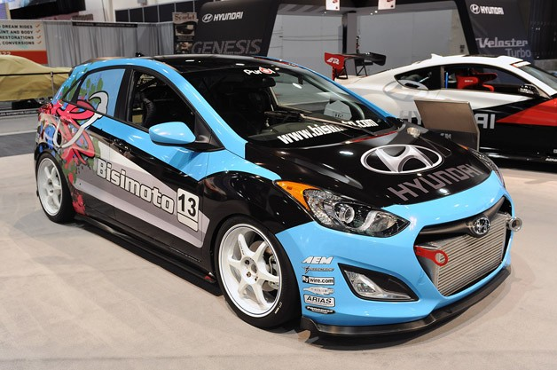 Bisimoto Hyundai Elantra GT Concept