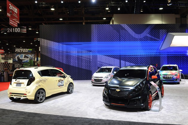 Chevrolet Spark SEMA Customs