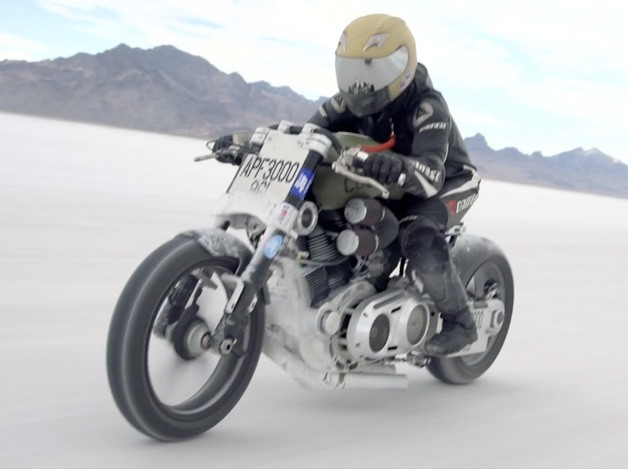 Confederate Motorcycles land speed record run