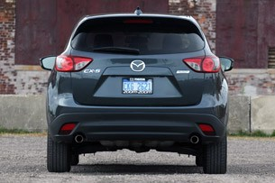 2013 Mazda CX-5 rear view