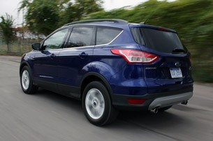 2013 Ford Escape driving