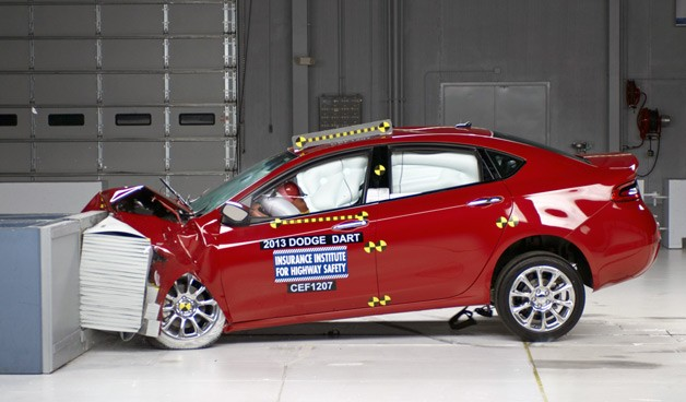 Dodge Dart Wins IIHS Top Safety Pick