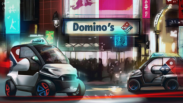 Domino's Pack by Anej Kostrevc