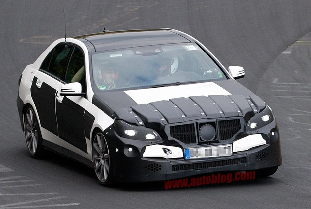 Mercedes-Benz E63 AMG Spy Shots