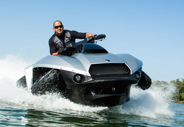 Gibbs Quadski on the water