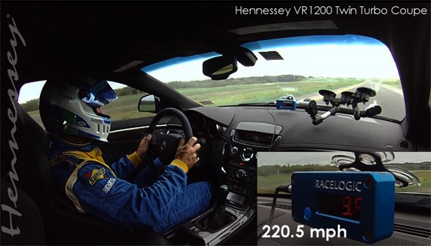Hennessey VR1200 Toll Road Run