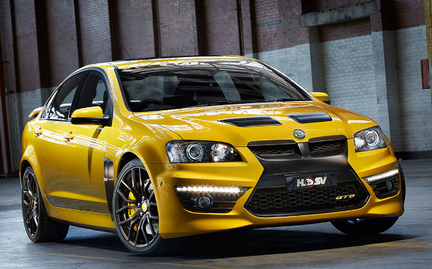 HSV celebrates quarter-century of smoking tires with 25th Anniversary GTS
