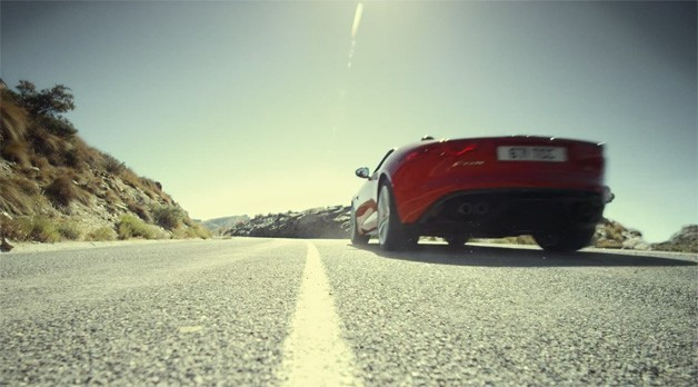 Jaguar F-Type Audio - video screencap