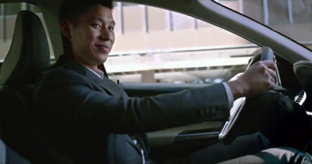 NBA star Jeremy Lin in Volvo XC60