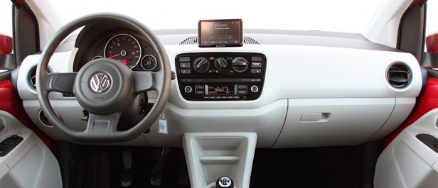 2012 Volkswagen Up! interior
