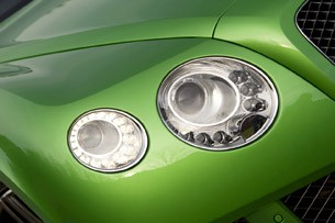 2013 Bentley Continental GT Speed headlight