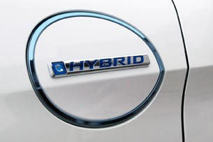 2014 Honda Accord Plug-In Hybrid charging port