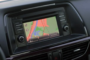 2014 Mazda6 navigation system