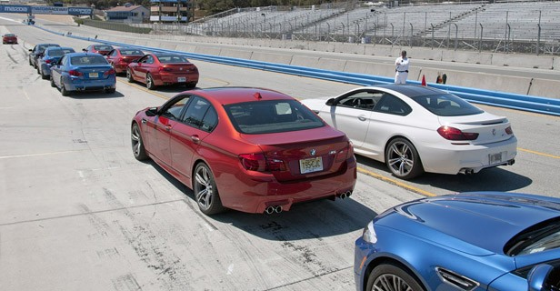 2013 BMW M5 6MT on track