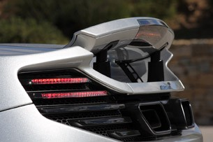 2013 McLaren MP4-12C Spider rear spoiler