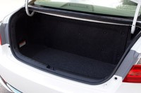 2014 Honda Accord Plug-In Hybrid trunk