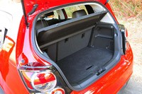2013 Chevrolet Sonic RS rear cargo area